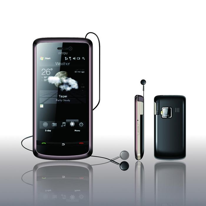 耳机线收线自动装置、耳机收线模块