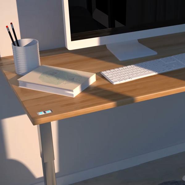 智能办公桌升降台齿轮箱解决方案