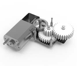智能电表齿轮电机
