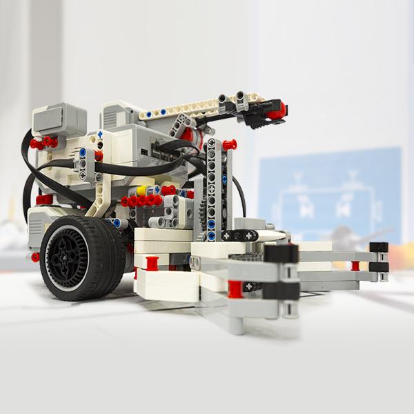 编程机器人舵机传动方案
