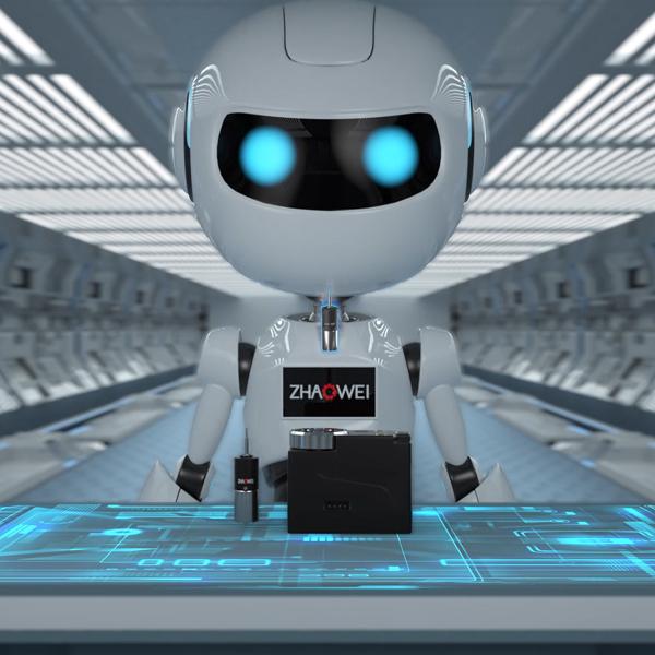 机器人头部旋转应用