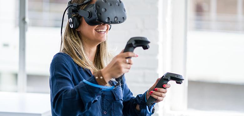 VR磁感应系统应用