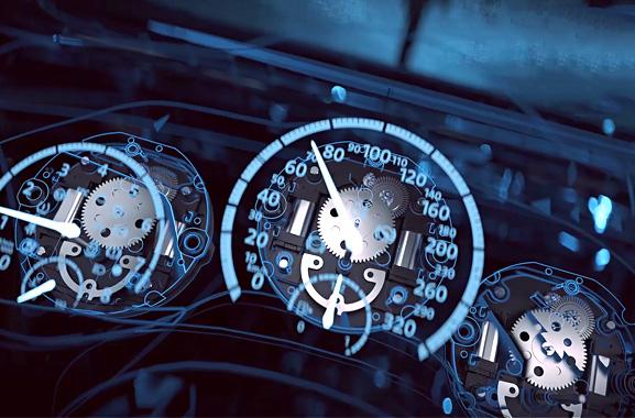汽车仪表步进电机齿轮箱