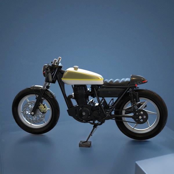 摩托车E-Booster减速模组应用