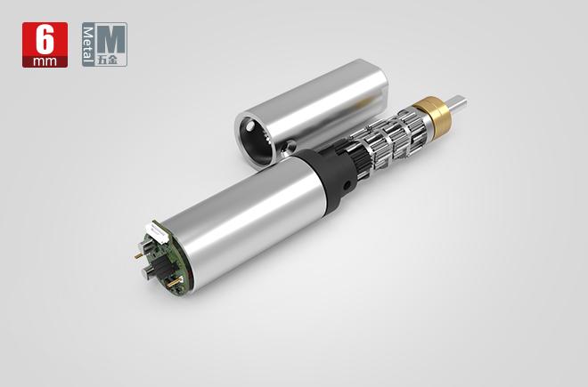 6MM金属减速齿轮箱