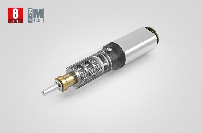 8MM金属减速齿轮箱