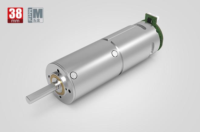 38MM金属减速齿轮箱