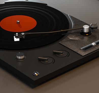 唱片机应用