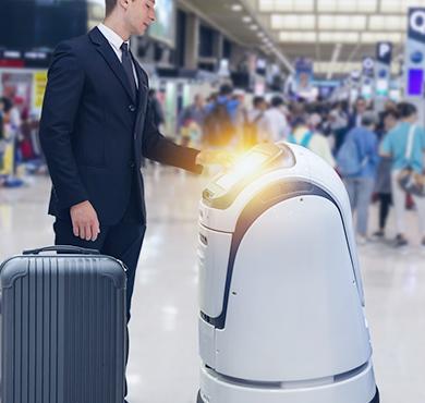 服务机器人应用