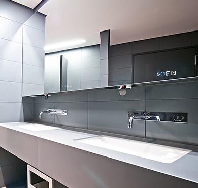 智能洗手台应用