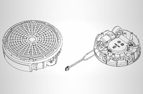 智能自动云台齿轮箱