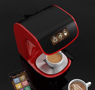 智能咖啡机应用
