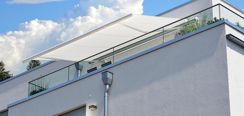 电动遮阳棚应用